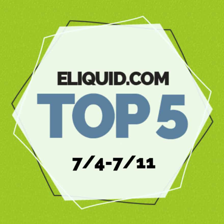 Top 5 Flavors for the Week of 7/4/18