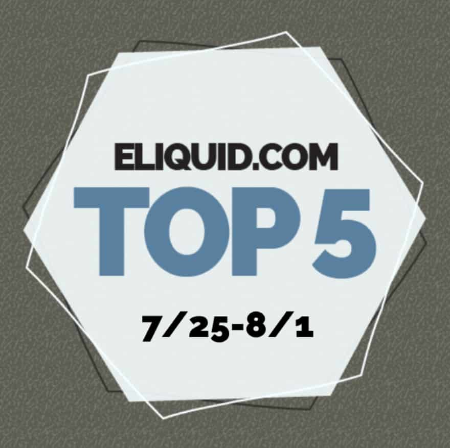 Top 5 Flavors for the Week of 7/25/18