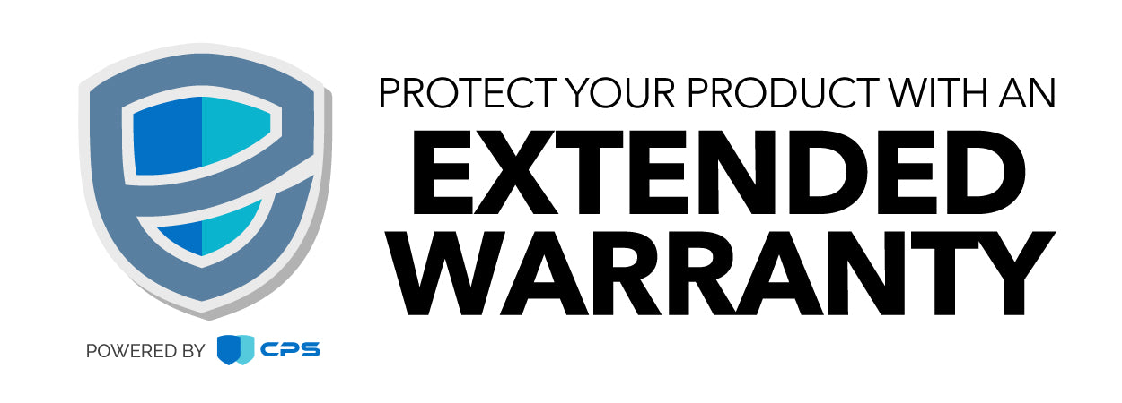 Protect your product with an Extended Warranty
