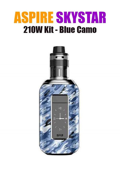 Aspire SkyStar Revvo Kit (210W 3.6ML 0.10/016ohm)-Hardware-Aspire Vape Co.-Blue Camo-eLiquid.com