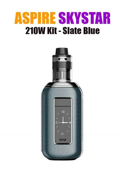 Aspire SkyStar Revvo Kit (210W 3.6ML 0.10/016ohm)-Hardware-Aspire Vape Co.-Slate Blue-eLiquid.com