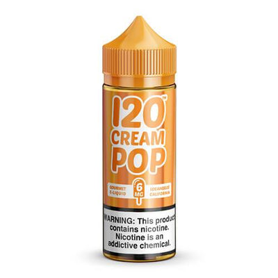 120 Cream Pop by Mad Hatter Juice-eLiquid-Mad Hatter Juice-120ml-6mg-eLiquid.com