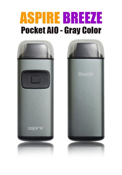 Aspire Breeze AIO-Hardware-Aspire Vape Co.-Gray-eLiquid.com