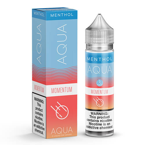 Momentum by Aqua Menthol eJuice Vape Juice 0mg