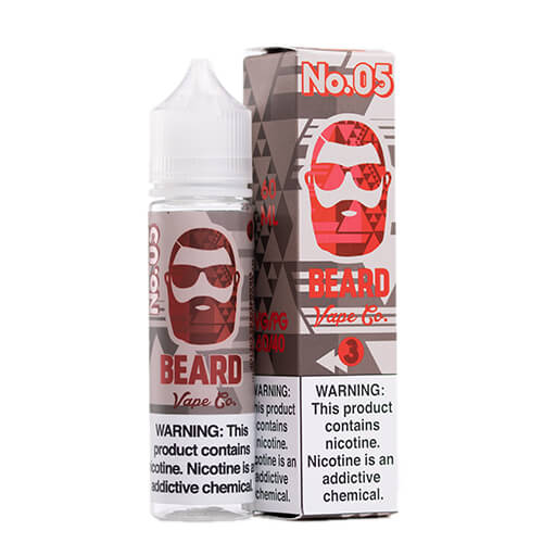 #05 Strawberry Cheesecake by Beard Vape Co. Vape Juice 0mg