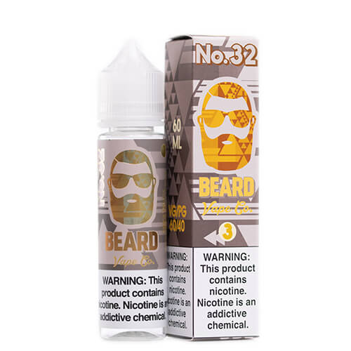 #32 Cinnamon Funnel Cake by Beard Vape Co. Vape Juice 0mg