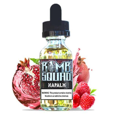 Napalm by Bomb Squad E-Juice-eLiquid-Bomb Squad-30ml-0mg-eLiquid.com