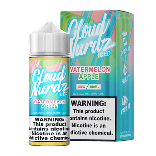 Watermelon Apple Iced by Cloud Nurdz eJuice