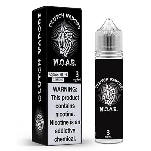 M.O.A.B by Clutch Vapors Vape Juice 0mg