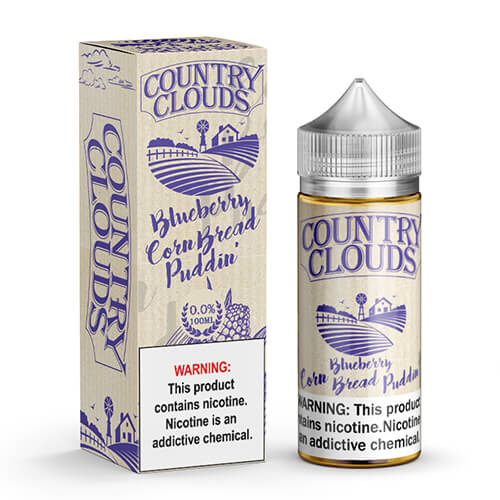 Blueberry Corn Bread Puddin' eJuice by Country Clouds
