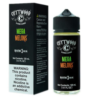 Mega Melons by Cuttwood E-Liquids-eLiquid-Cuttwood E-Liquids-120ml-3mg-eLiquid.com