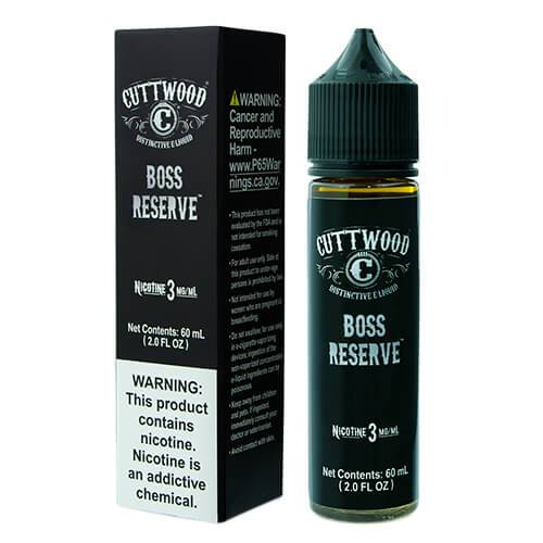 BOSS RESERVE BY CUTTWOOD E-LIQUIDS