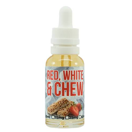 Enfuse Vapory - Nic Salt Line - Red, White & Chew