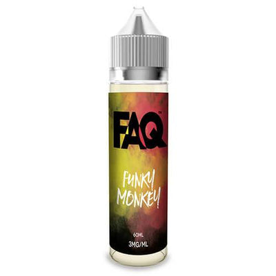 Funky Monkey by FAQ Vapes-eLiquid-FAQ-60ml-0mg-eLiquid.com