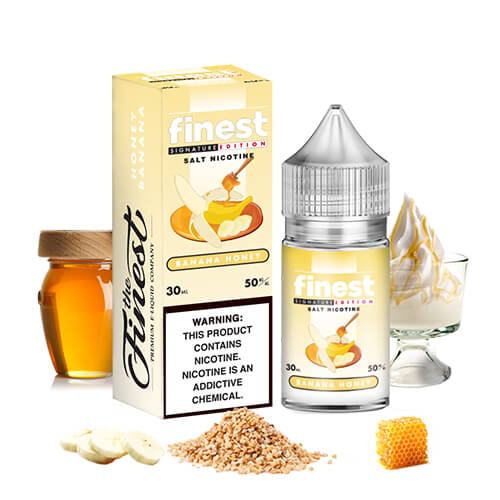 Banana Honey by Finest SaltNic Series