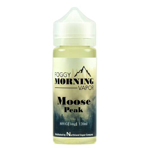 Moose Peak by Foggy Morning Vapor