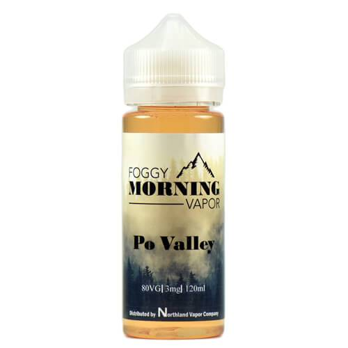 Po Valley by Foggy Morning Vapor