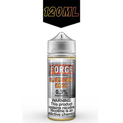 Blueberry Boss by Forge Vapor eLiquids-eLiquid-Forge Vapor-120ml-0mg-eLiquid.com