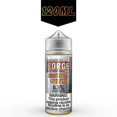 Crucible Cream by Forge Vapor eLiquids-eLiquid-Forge Vapor-120ml-0mg-eLiquid.com