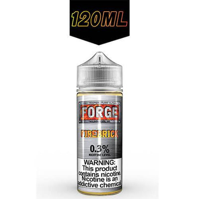 Firebrick by Forge Vapor eLiquids-eLiquid-Forge Vapor-120ml-0mg-eLiquid.com