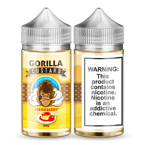 Strawberry by Gorilla Custard eLiquid