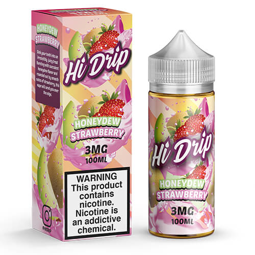 Honeydew Strawberry by Hi Drip eJuice Vape Juice 0mg