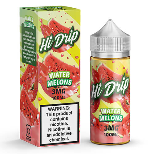 Water Melons by Hi Drip eJuice Vape Juice 0mg