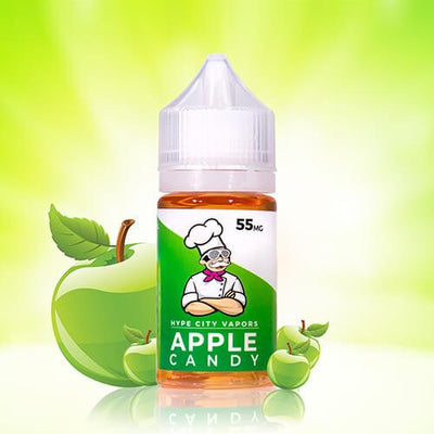Apple Candy by Hype City Vapors SALTS-eLiquid-Hype City Vapors-30ml-55mg-eLiquid.com