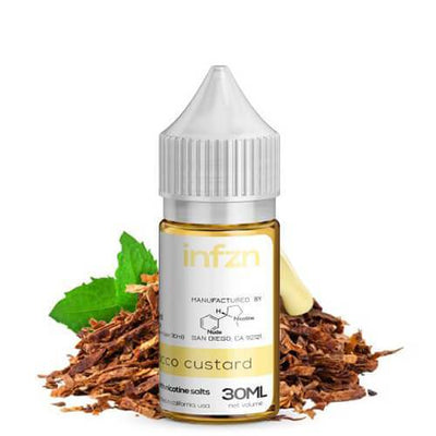 Light Tobacco Custard by INFZN by Brewell-eLiquid-INFZN by Brewell-eLiquid.com
