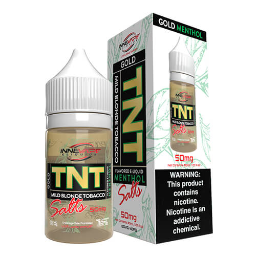 TNT (The Next Tobacco) Gold Menthol by Innevape eLiquids Salts