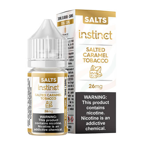 Instinct Salted Caramel Tobacco by VR Labs SALTS