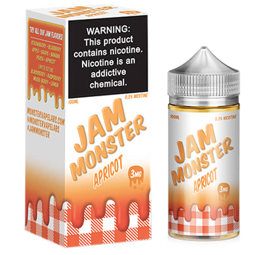 Apricot by Jam Monster eJuice