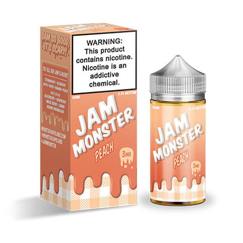 Peach by Jam Monster eJuice