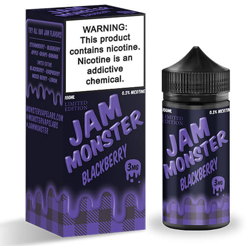 Blackberry (Limited Edition) by Jam Monster eJuice