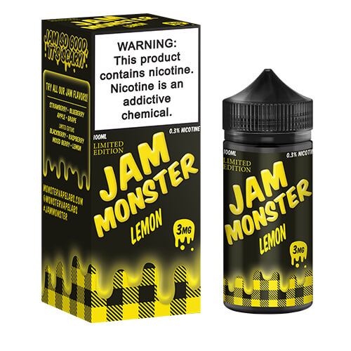 Lemon (Limited Edition) by Jam Monster eJuice