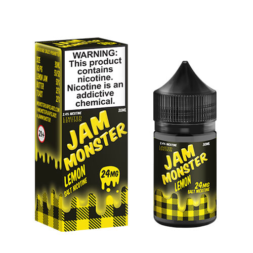 Lemon (Limited Edition) by Jam Monster eJuice SALT