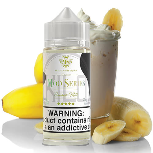 Banana Milk by Kilo eLiquids Moo Series