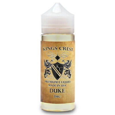 Duke by Kings Crest Premium E-Liquid-eLiquid-King's Crest-120ml-0mg-eLiquid.com