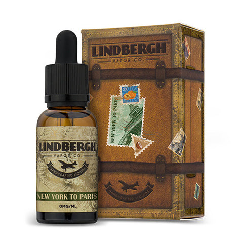 New York To Paris by Lindbergh Vapor Company-eJuice-Lindbergh-eLiquid.com
