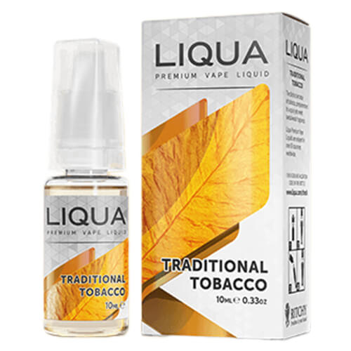Traditional Tobacco by LIQUA eLiquids