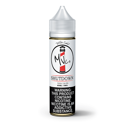Shutdown by White Label by Maine Vape Co