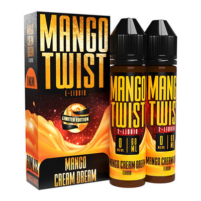 Mango Cream Dream (Limited Edition) by Mango Twist E-Liquids-eLiquid-Mango Twist E-Liquids-120ml-0mg-eLiquid.com