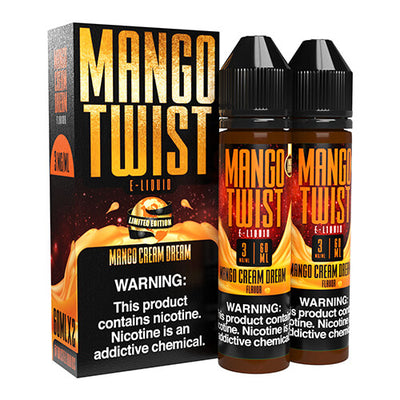 Mango Cream Dream (Limited Edition) by Mango Twist E-Liquids-eLiquid-Mango Twist E-Liquids-120ml-3mg-eLiquid.com