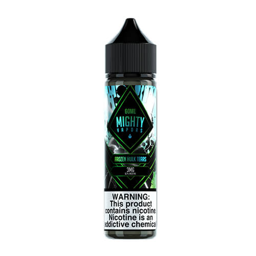 Frozen Hulk Tears by Mighty Vapors Vape Juice 0mg