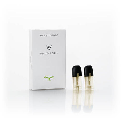 Green Apple (2 Pack) by My. Von Erl Brand LiquidPods