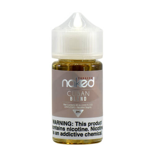 Cuban Blend by Naked 100 Tobacco By Schwartz