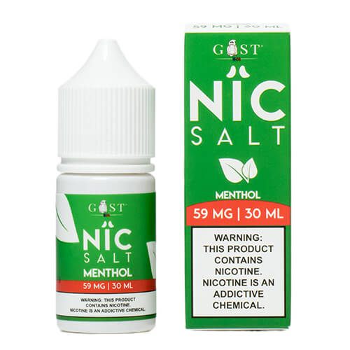Menthol by Nic Salt by Gost Vapor