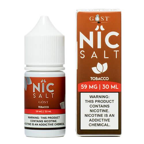 Tobacco by Nic Salt by Gost Vapor