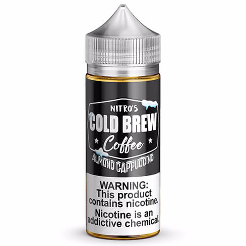 Almond Cappuccino eJuice by Nitro's Cold Brew