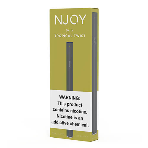 Tropical Twist (1 Pack) by Njoy Daily eCig